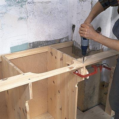 Кухонная столешница своими руками из фанеры