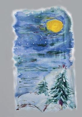 Техники росписи ткани