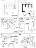 Как построить мангал из кирпича своими руками.