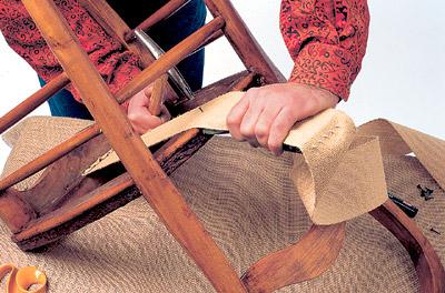 Как поменять обивку кресла своими руками