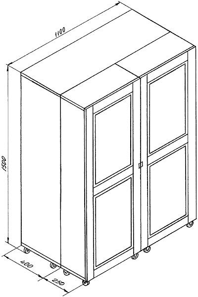 шкаф для рукоделия.