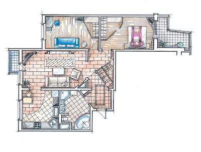 Типовые планировки квартир план квартиры серии домов