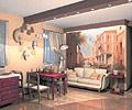 Проект перепланировки квартиры в венецианском стиле.  Статья.