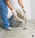 о базовой составляющей полов. о стяжке.  По сложившейся технологии в многоэтажных домах плиты делаются гладкими...