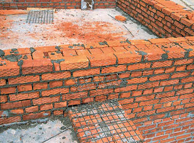 стены из полнотелого кирпича еще раз главном