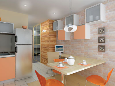 Четыре дизайн-проекта квартир в панельном жилом доме серии п.