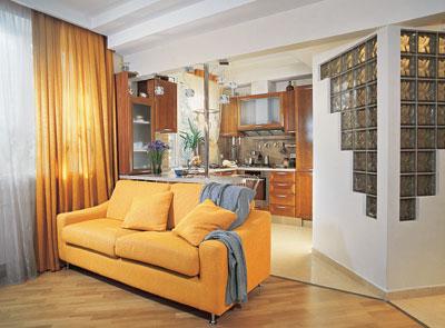 Дизайн однокомнатной квартиры: решения для холостяков и семейных.