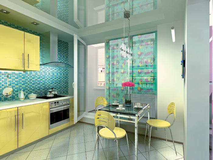 Четыре дизайн-проекта квартир в панельном доме серии п-30.