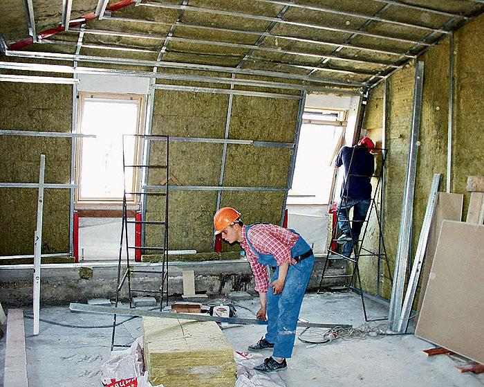 Как лучше сделать стены в доме 141