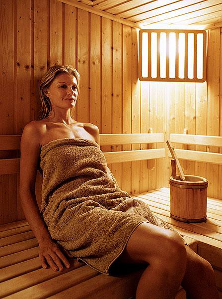 фото женщины в банях