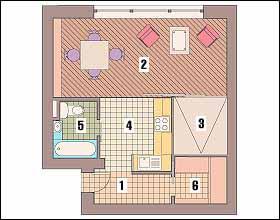 Дизайн квартир в доме серии ii-68