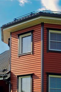 Рубашка для дома: материалы для навесного фасада