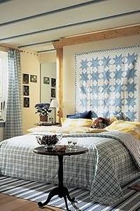 Кровать в центре внимания