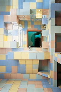 Ванная в клеточку или жизнь в полосочку