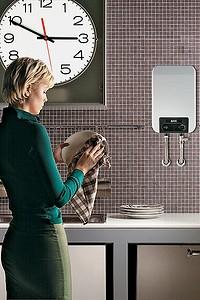 Электрические водонагреватели, накопительные и проточные