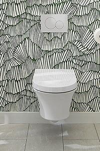 Интерьер маленького туалета: 15 очаровательных вариантов