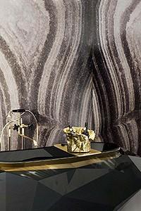 Мрамор в ванной комнате: 7 стилей интерьера, в которых уместен холодный камень