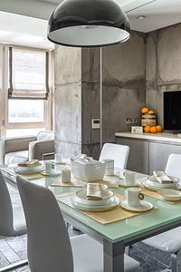 Кухня в стиле лофт: отсутствие отделки как эффектный дизайнерский ход