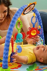Развивающие коврики для первого года жизни малыша