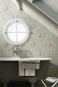 Обои в ванной комнате: плюсы и минусы дизайнерского приёма