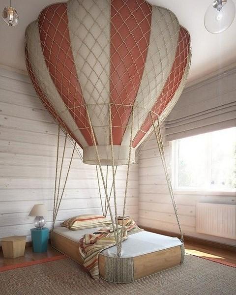 Кровать в виде воздушного шара...
