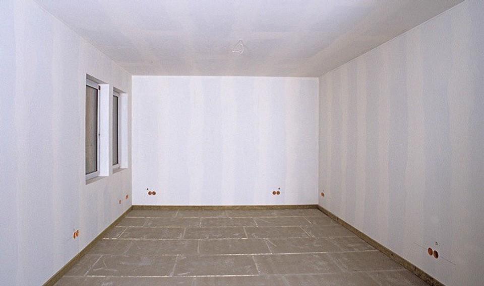 Потолок и стены обшиты ГКЛ и заш...
