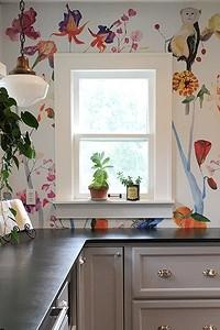 Как правильно скомбинировать обои на кухне: варианты дизайна и 50 примеров с фото