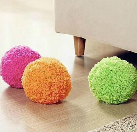 Электрический мяч для уборки пыли