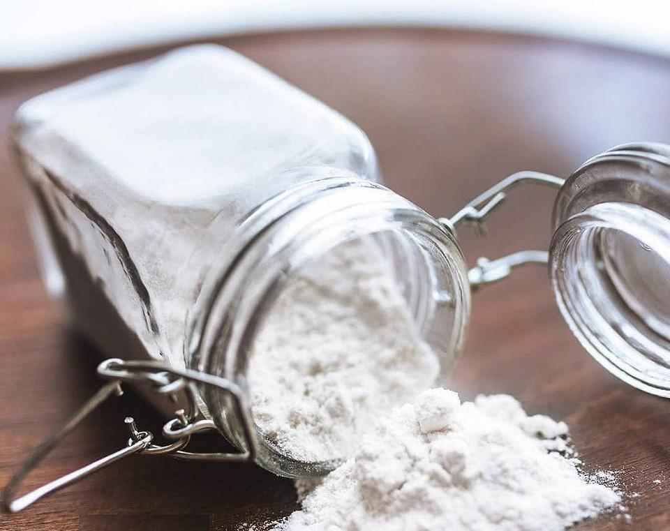 Сода с маслами в банке