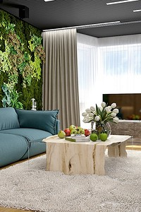 Приём в стиле эко: вертикальное озеленение