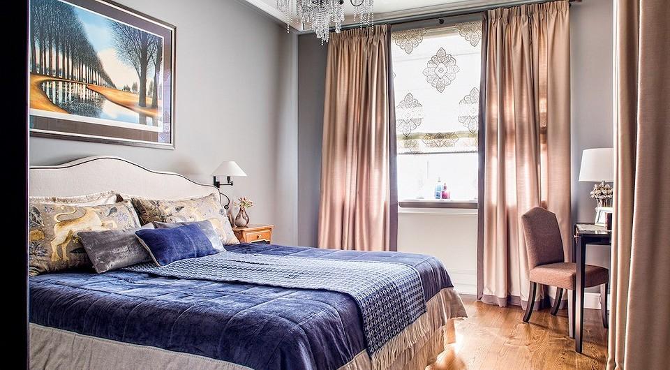 В спальне, как и в кабинете, нет в&#1...