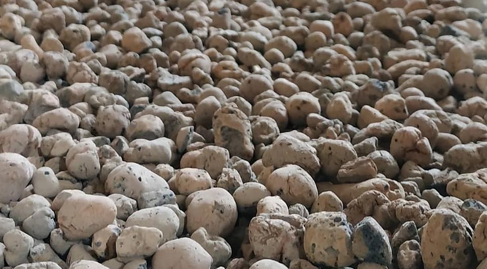 Гранулы керамзита