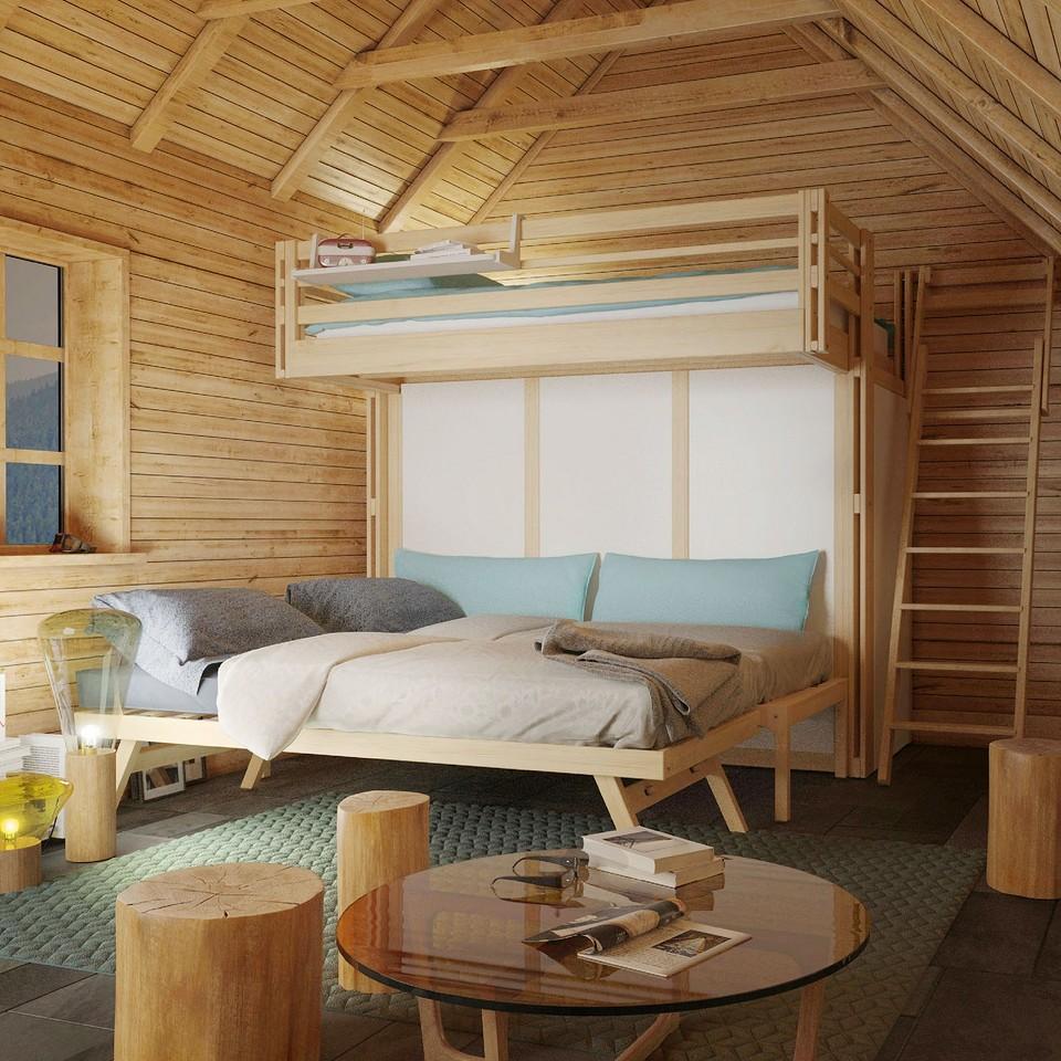 7 кроватей-трансформеров, которые вас удивят