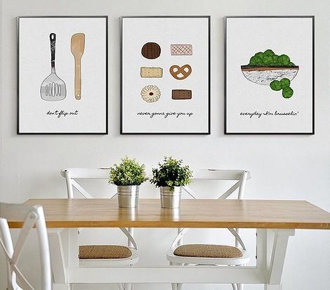 Постеры для кухни