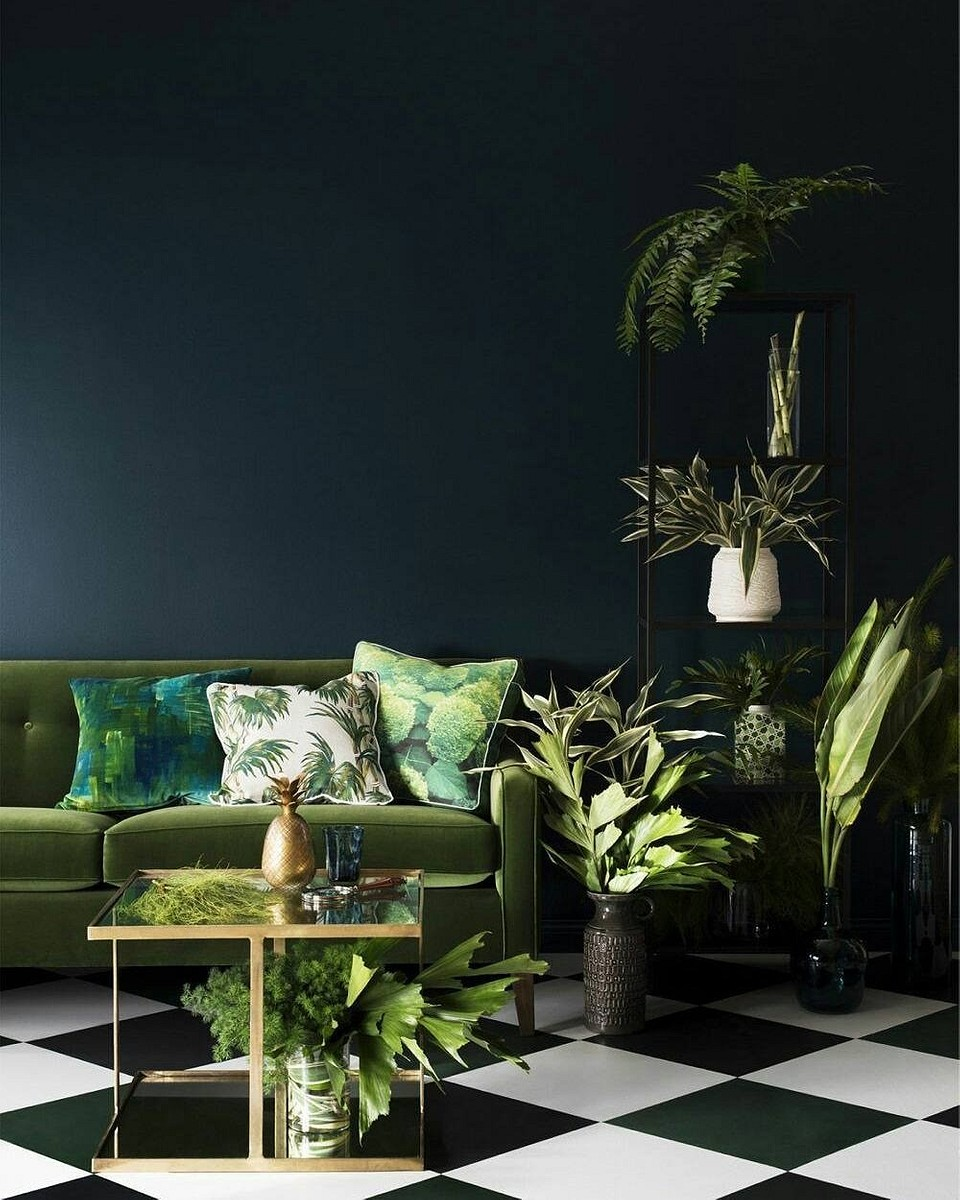 Светлый оттенок зеленого Greenery - цвk...