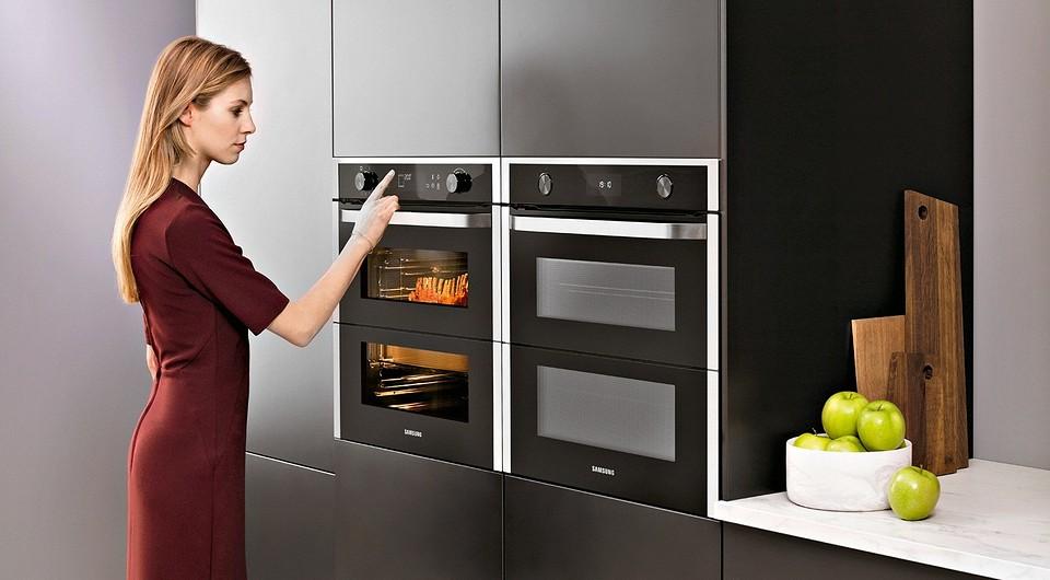 Духовой шкаф Samsung серии Dual Cook с фирмен&#10...