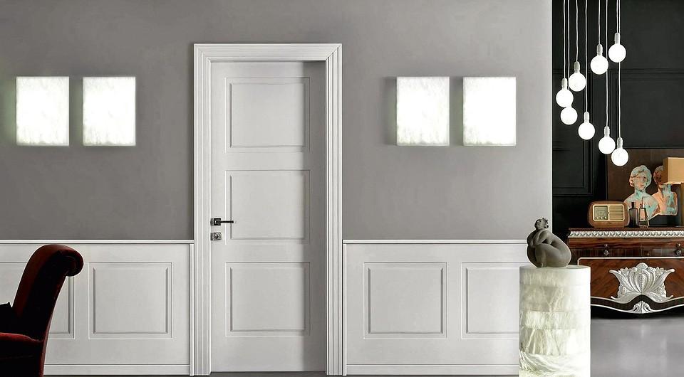 Дверь и стеновые панели, выполн...
