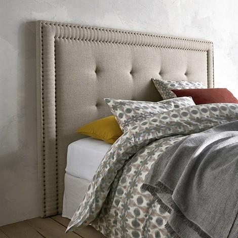 Изголовье кровати, высота 135 см, Hampstead, покрытие из 100% льна