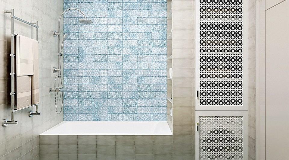 Дизайн-проект: скандинавская однушка со стеклянными перегородками