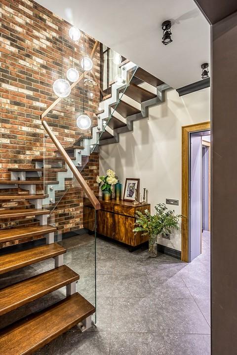 По мнению дизайнеров, лестница,...