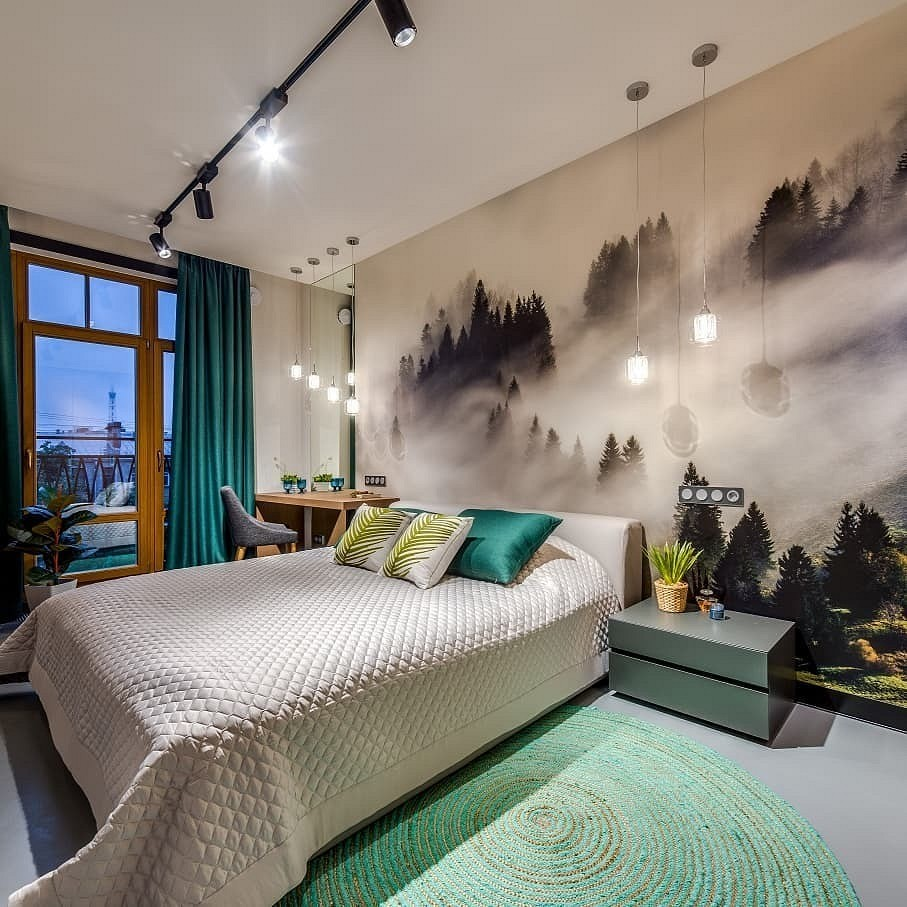 рецепт можно оформление спальной комнаты с фотообоями общем