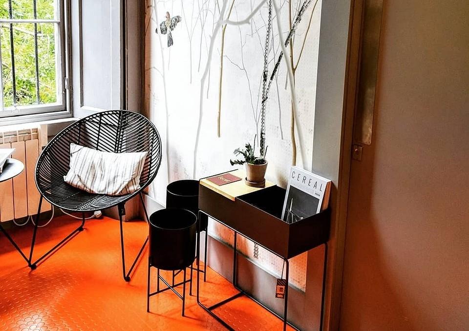 45 ярких квартир с цветными полами