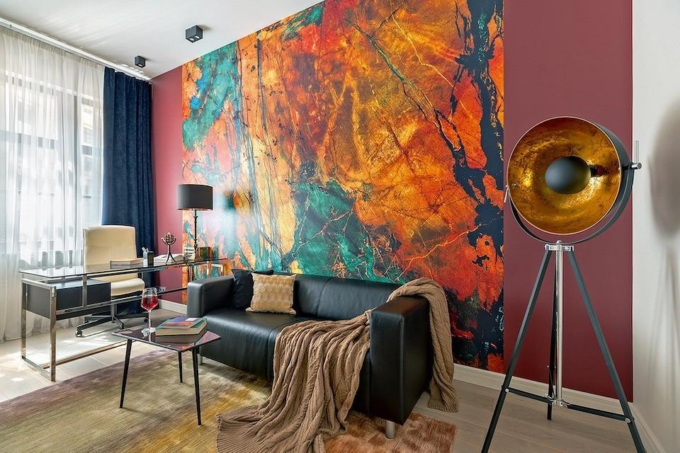 Взрывной дизайн кабинета стим&#...