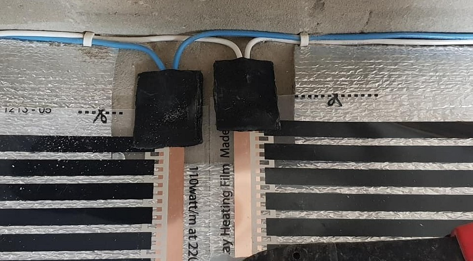 Монтаж пленочного теплого пола под ламинат: полная пошаговая инструкция