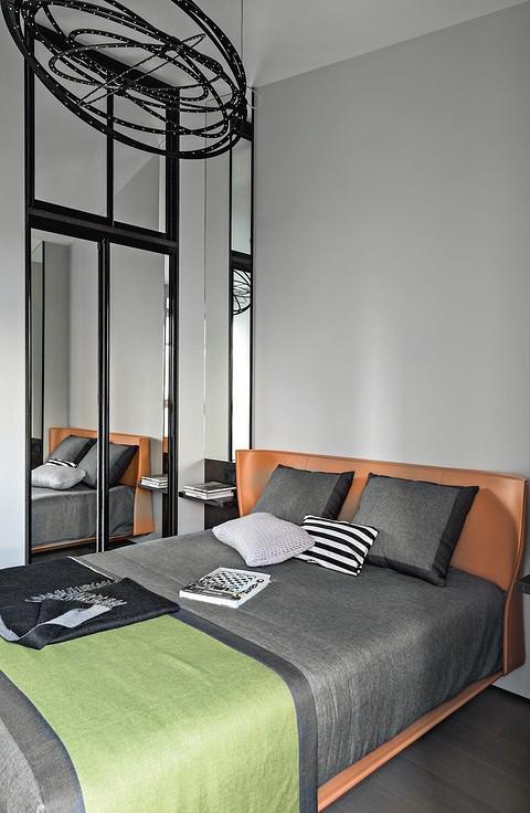 Небольшую спальню оптически р&#...