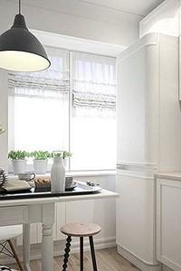 Планировка кухни 6 метров с холодильником: фото удачных примеров и советы по оформлению