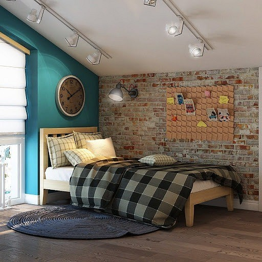 Комната для девочки в стиле Нью...