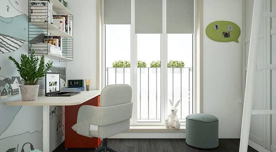 Маленькая комната для подрост&#...