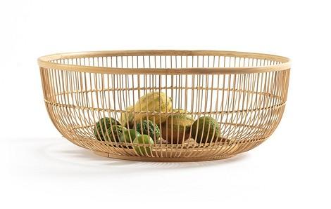 Корзина из бамбука