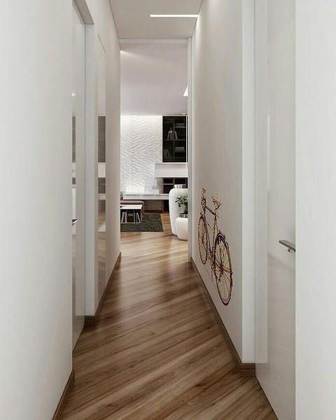 Прихожие: идеи на фото для узких коридоров в квартире